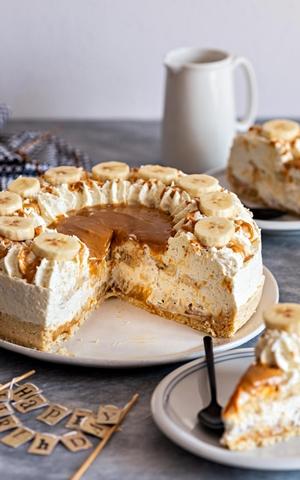 Mega Ciasto Bananowo – Kokosowe Banoffee Pie Bez Pieczenia