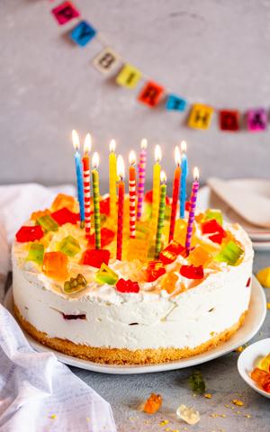 Tort Kolorowa Pianka Dla Dzieci