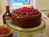 Tort czekoladowo – pomarańczowy