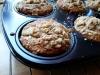 Proste muffinki z rodzynkami i kruszonką
