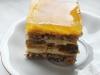 Słoneczna Delicja – Świąteczne ciasto z delicjami, bakaliami i brzoskwiniami
