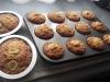 Muffiny bananowe z orzechami