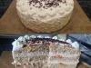 Tort cynamonowo-migdałowy