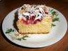 ciasto drozdzowe z porzeczkami