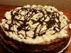 Sernik krówkowy z czekoladą