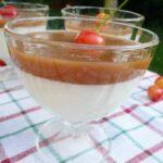 Krem jogurtowy z czereśniami