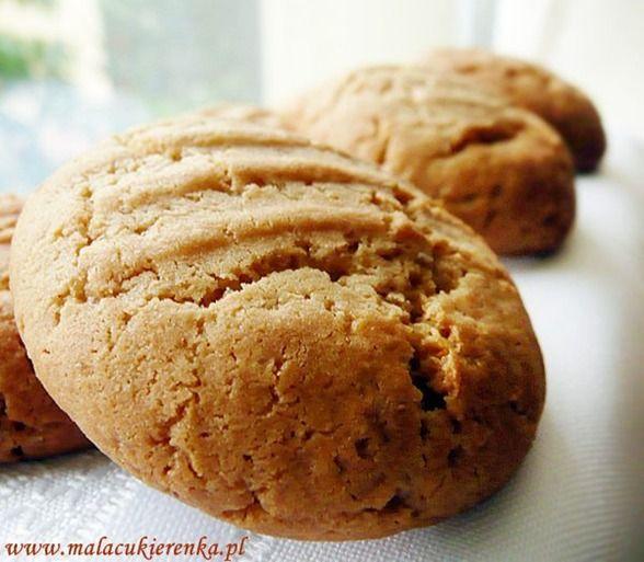 Waniliowe ciasteczka z masłem orzechowym