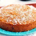 Ciasto kokosowe z daktylami i syropem