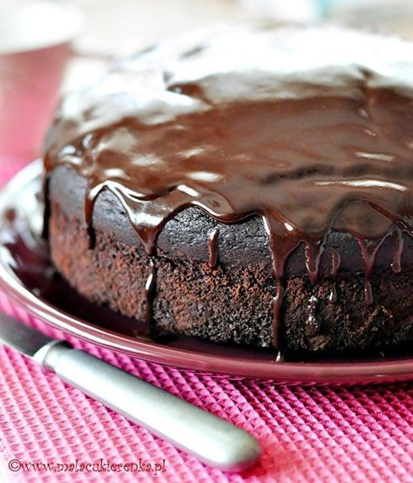 Proste ciasto czekoladowe