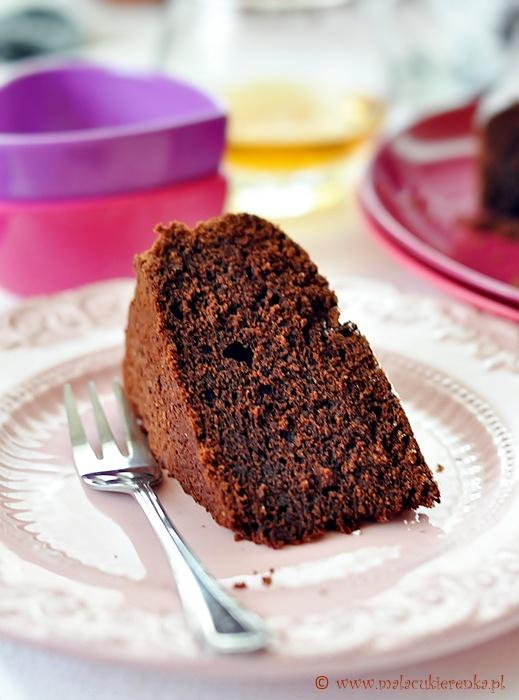 Czekoladowe ciasto z brandy