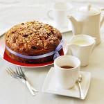 Ciasto z wiśniami i migdałami