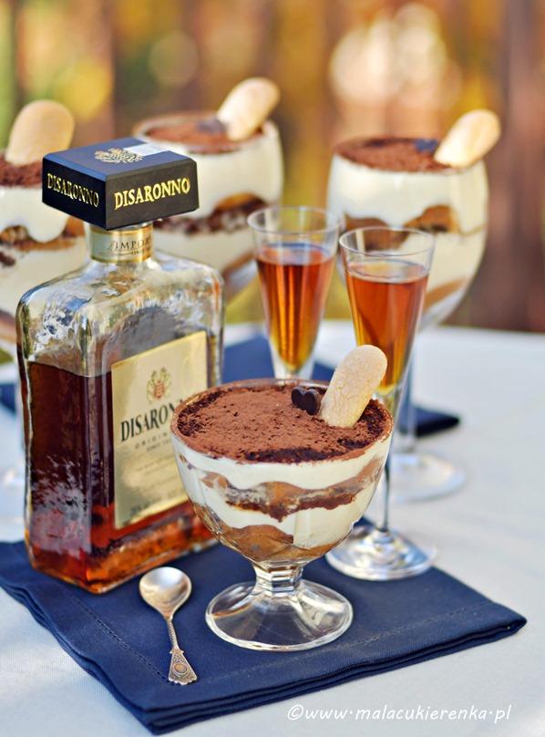 tiramisu z czekolada i amaretto