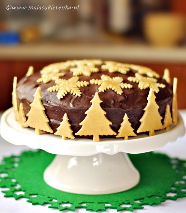 ciasto czekoladowe swiateczne