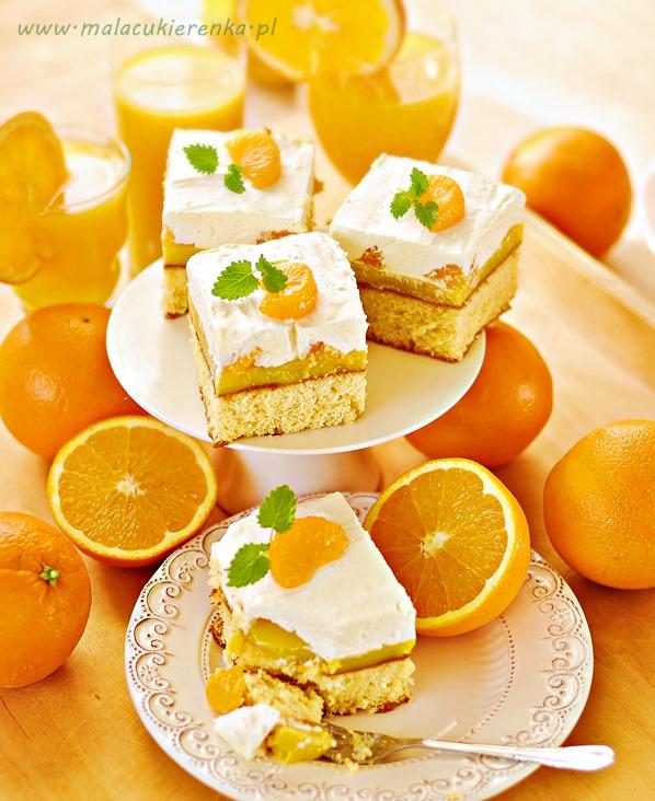 biszkopt pomaranczowy