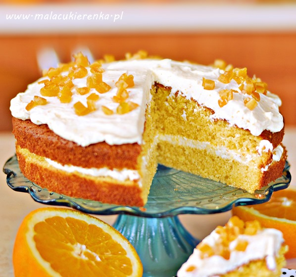 ciasto pomaranczowe