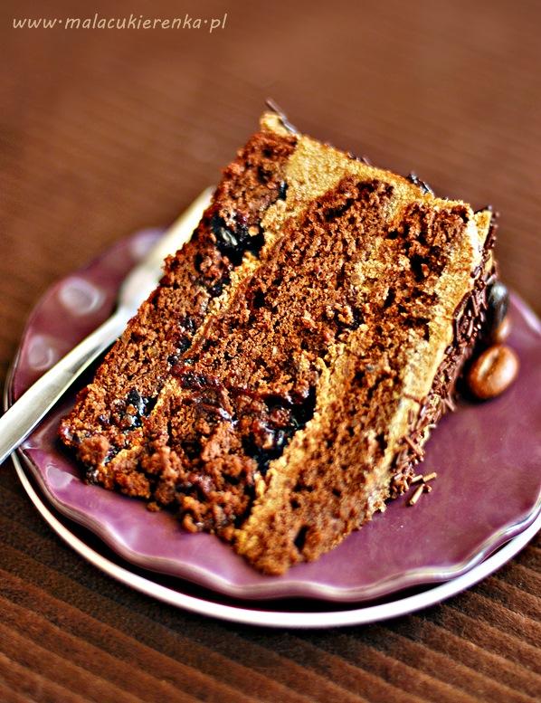 tort czekoladowy z kawa