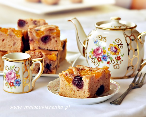 rozowe ciasto