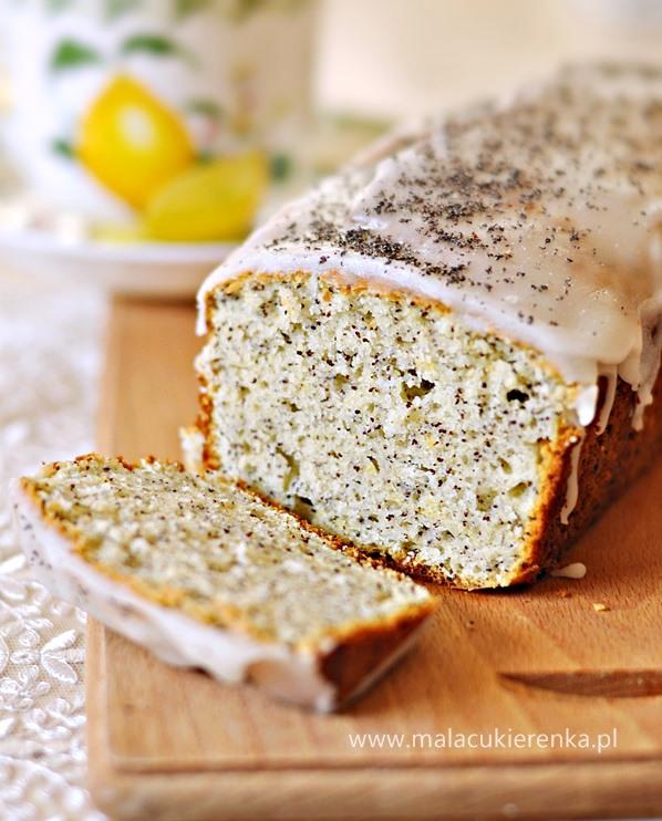 szybkie ciasto cytrynowe z makiem