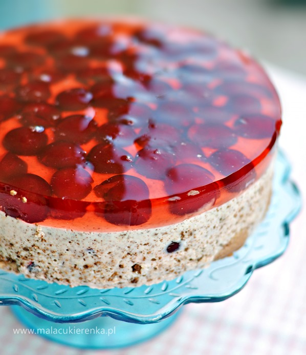 ciasto z wisniami na zimno