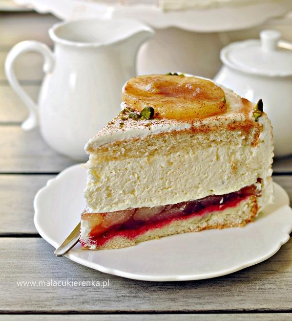 lekki tort jabłkowy4