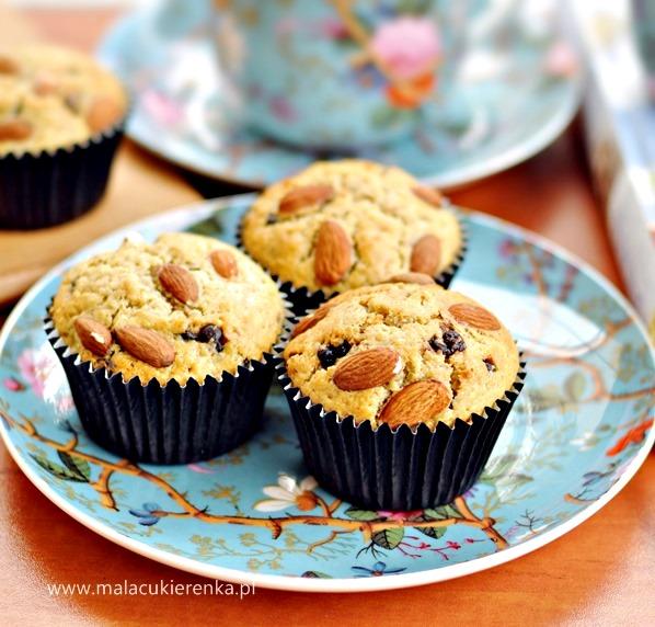 muffiny z czekolda i orzechami