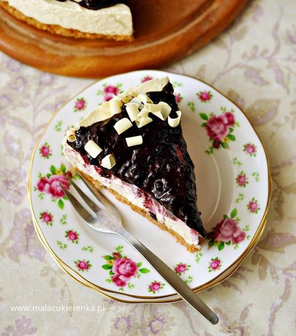 sernik z biala czekolada