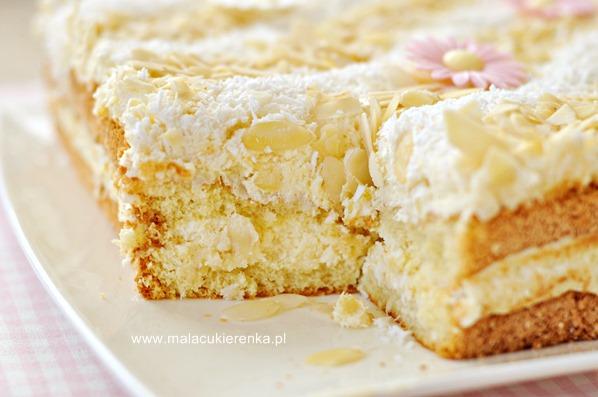 ciasto kokosowo migdalowe z ajerkoniakiem3