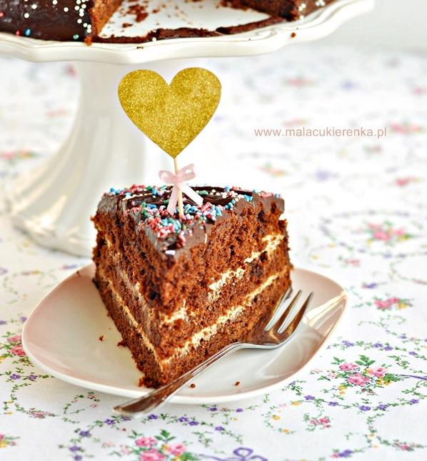 ciasto czekoladowe Earl Grey
