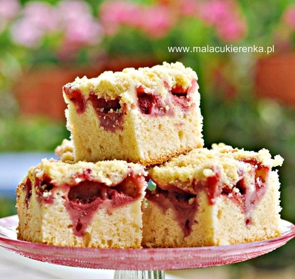 Ciasto Z Owocami Na Oleju Przepis Mala Cukierenka