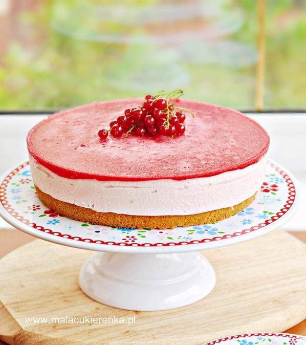 ciasto z musem porzeczkowym