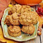 Ciasteczka z dynią, wegańskie bez glutenu
