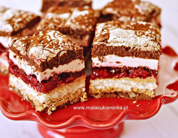 Ciasto Wszystkiego Najlepszego Z Wisniami I Czekolada Mala