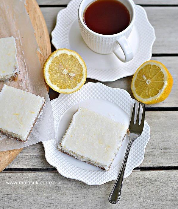 Ciastka cytrynowo -kokosowe bez glutenu, bez cukru, wegańskie