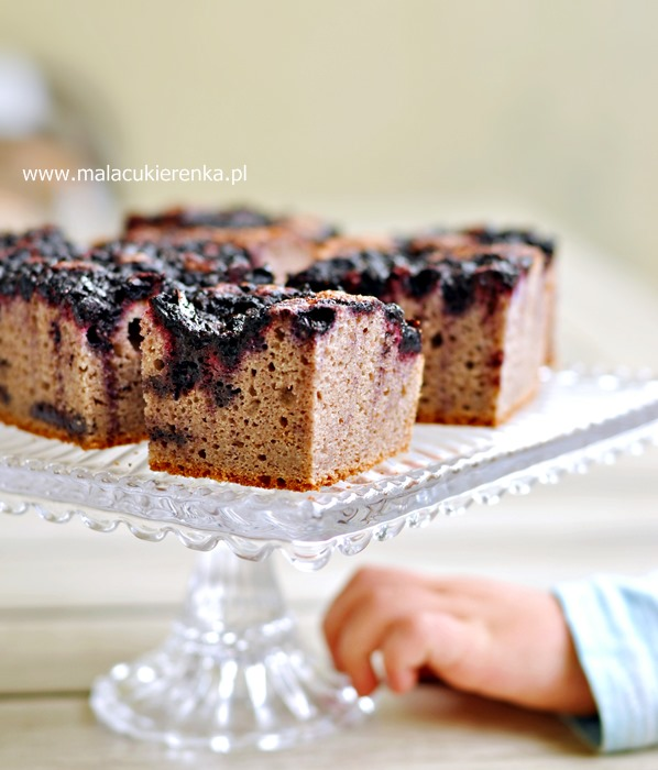 Ciasto weganskie bez cukru