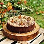 Czekoladowe ciasto z gruszkami i orzechami – brownie