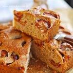 Aromatyczne ciasto ze śliwkami i maślanką