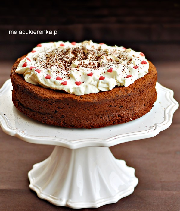 Ciasto czekoladowe z amaretto bez mąki