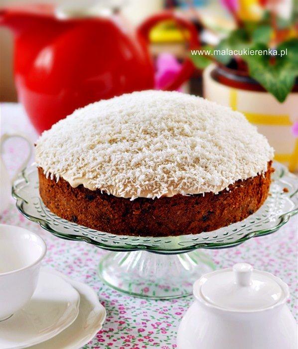 Ciasto czekoladowo – kokosowe