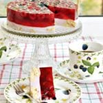 Łatwe ciasto na zimno z owocami