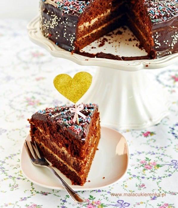 Czekoladowe ciasto Earl Grey