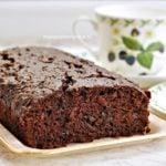 Bardzo czekoladowe ciasto z cukinią