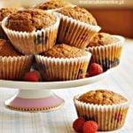 Muffiny bez mąki pszennej z owocami (bez glutenu)