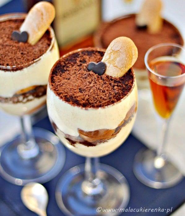 Tiramisu z czekoladą i amaretto