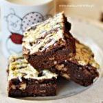 Bardzo czekoladowe ciasto z orzechami