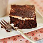 Brownie z czekoladą i likierem