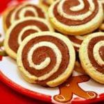 Ciasteczka czekoladowo – waniliowe bez cukru