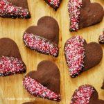Ciastka czekoladowe dla ukochanej osoby