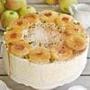 Lekki tort jabłkowy z karmelem