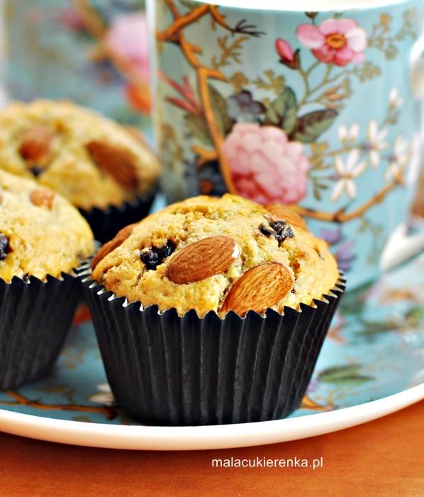 Muffiny z czekoladą i orzechami