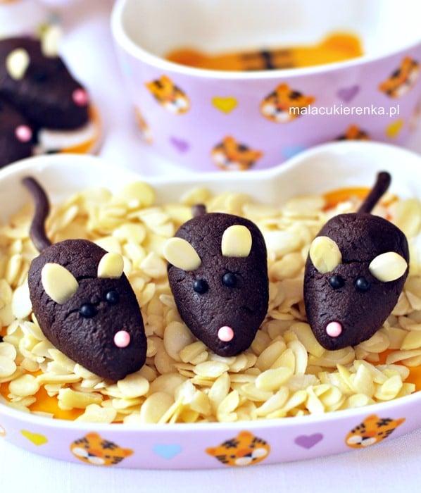 Czekoladowe myszki